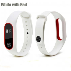 Millet 2 generation Bracelet replacement wrist strap millet  Bracelet replacement strap white and red a
