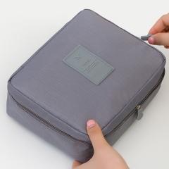 Make Up Bag Women waterproof Cosmetic MakeUp bag travel organizer for toiletries toiletry kit gray A
