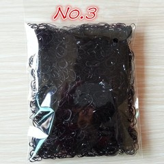 2000pcs/bag 2015 New Child Baby TPU Hair Holders Rubber Bands Elastics Girl's  Hair Accessories black