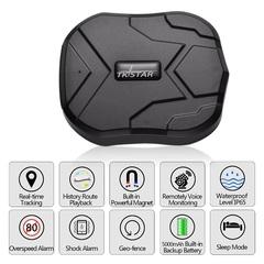 GPS Tracker Standby 2G Vehicle Tracker GPS Locator Waterproof Magnet Voice Monitor Free Web APP