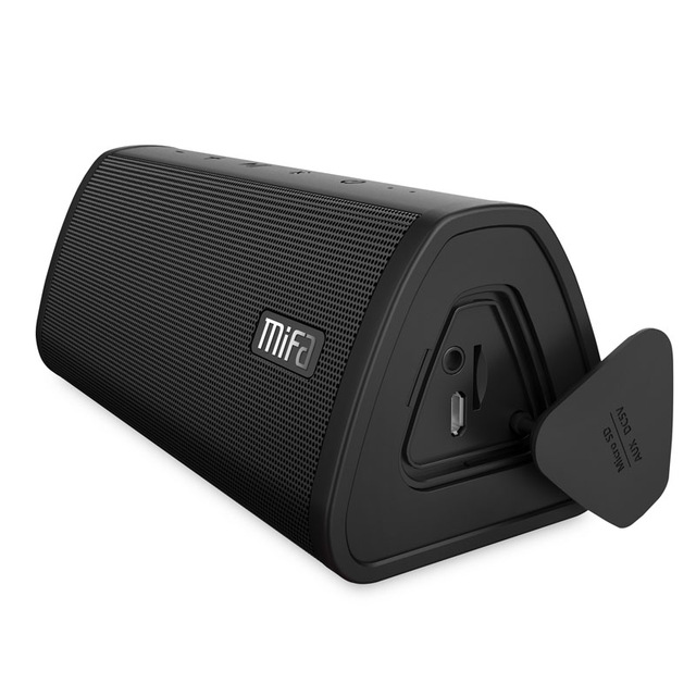 Portable Bluetooth speaker Portable Wireless  Sound stereo Music surround Waterproof Outdoor Speaker black a