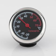Car Automobile Digital Clock Auto Watch Automotive Thermometer Hygrometer Decoration Ornament Clock black thermometer a