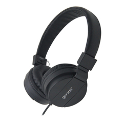 DEEP BASS Headphones 3.5mm AUX Foldable Portable Adjustable Gaming Headset For Computer Phones black