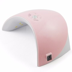 36W Led Lamp Nail Dryer For All Types Gel 12 Leds UV Lamp Nail phototherapy machine USB Connector pink Induction