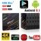 H96 MAX + Plus Android 8.1 TV Box 4GB RAM 64GB ROM Set Top Box  USB3.0 H96 Pro Smart TV Media Player black EU