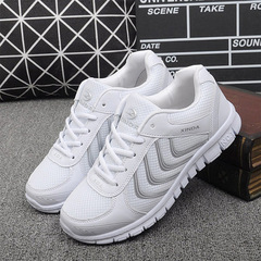 New Arrivals fashion tenis feminino light breathable mesh shoes woman casual shoes women sneakers white 36