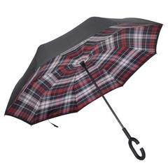 Double Layer Reverse folding umbrella inverted Wind Proof Rain Umbrella car for Women 1