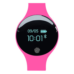 Bluetooth Smart Watch for IOS Android Men Women Sport Intelligent Pedometer Fitness Bracelet Watches rose H8