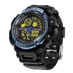 LF21 Smart Watch Waterproof Sport Ultra-long Standby Pedometer Smart watch Men Electronic watches black One size