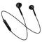 High Quality S6 Sports Wireless Bluetooth Earphones Headset Earpiece Headphones With Mic black