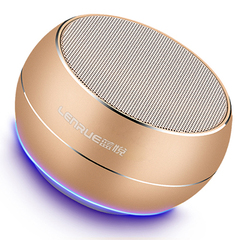 A9 Mini Portable Bluetooth Speaker Stereo Bass Sound Subwoofer Loudspeaker Wireless Outdoor Speakers gold A9