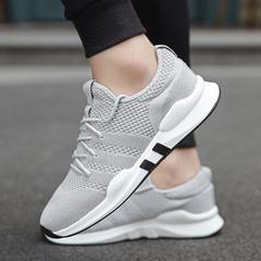 Men Shoes Fashion Men Casual Shoes Breathable Sneakers Adult Comfortable Men's Vulcanize Shoes gray 39