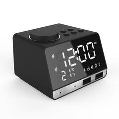 K11 Bluetooth speaker alarm clock audio creative music clock display radio Bluetooth speaker charger black uk
