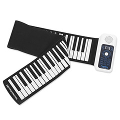 88-key electronic piano Thickening keyboard Electronic organ Beginner Practice Hand held piano