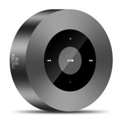 A8 Wireless Bluetooth speaker Mini Portable Overweight Subwoofer TF USB Sound Box Small steel gun black A8