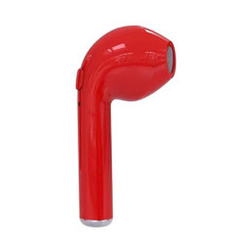 i7s Bluetooth headset Wireless headset Mini Unilateral Bluetooth Headset Sports Mic Headphones red