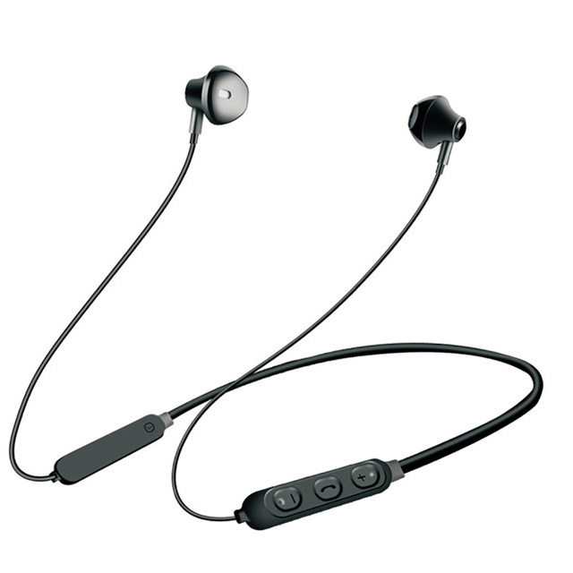 Bt3130 Bluetooth Headset Wireless sport Headphone microphone distance Adjustable Volume Music black