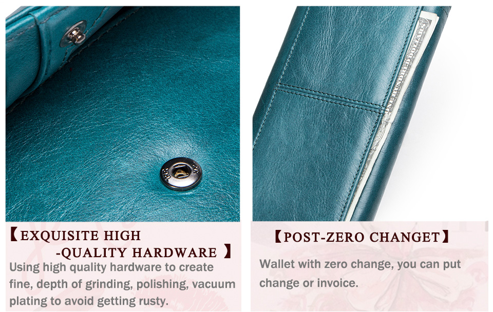 Clutch Wallets for Women Coin Purse Phone Pocket Genuine Leather Female Wallet Card Holder Money Bag gray 19*10*3.5cm 24