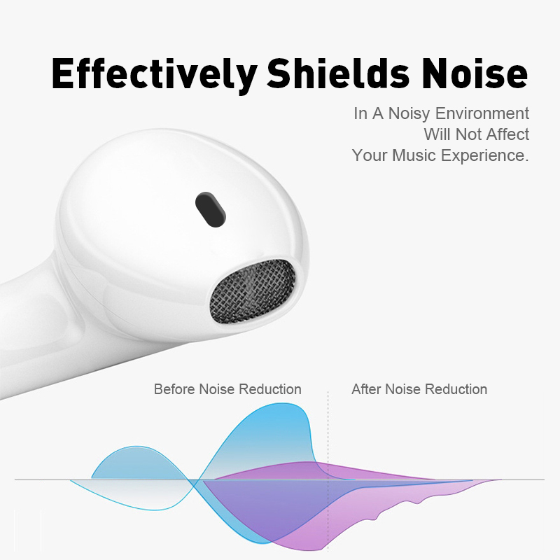 i11 tws Wireless Earphone Bluetooth 5.0 Stereo 3D Headphone TWS Mini Earbuds Headset white+box 4