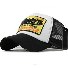 Outdoor sunshade cap Summer Baseball Cap Embroidery Mesh Cap Women Gorras Hop Caps ,Peaked cap Black one size