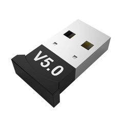 V5.0 Wireless USB Bluetooth 5.0 Adapter Bluetooth Dongle Receiver Adapter Bluetooth Transmitter Black one size