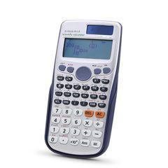 24 Bit Scientific Calculator Calculation Tool Full Function Calculator Fx-991es Plus Student Blue