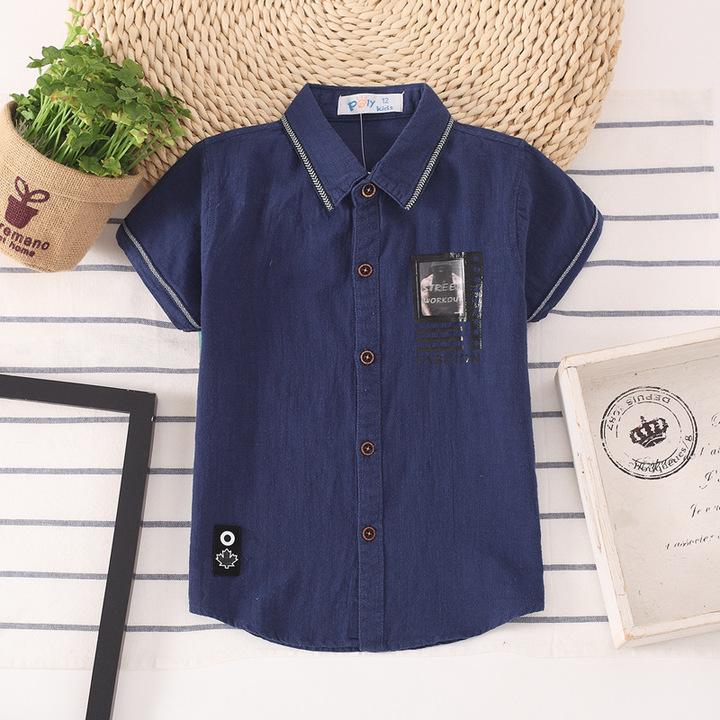 Kids Polo Kids Shirts 2019 Boys Shirts Cotton Children Clothes 1 110 cm Cotton