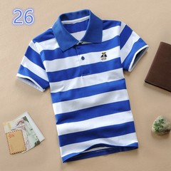 1-14 years old kids cotton polo tee shirt 26 110 cm cotton