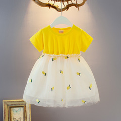Baby Girl Summer Cotton Pineapple lovely Fashion Dress 1 110 cm