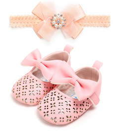 Diamond Baby Princess bowknot decor Sandals 0 - 1 Years old 1 11 cm (0-6 month)
