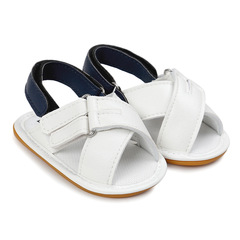 Summer Cross hole Baby Rubber bottom learn walking sandals for 0 - 1 Years old baby 1 11 cm
