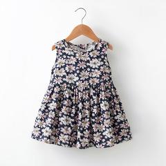 2019 Baby Girl Sleeveless vest princess dress 1 90 cm