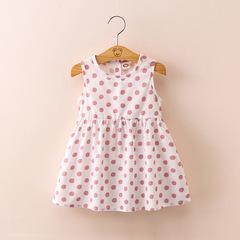 2019 New Baby Girl Vest Princess Dress on Summer 1 90 cm