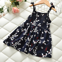2019 Summer Baby Girl flower princess dress 1 90 cm