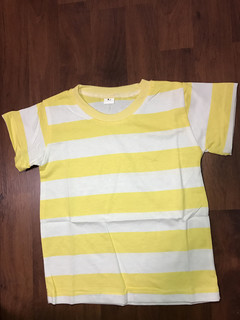 2019 Special Offer Fashion Baby Boy and Girl Cotton T shirt top polo ZSHRAN1-Yellow 110 cm cotton