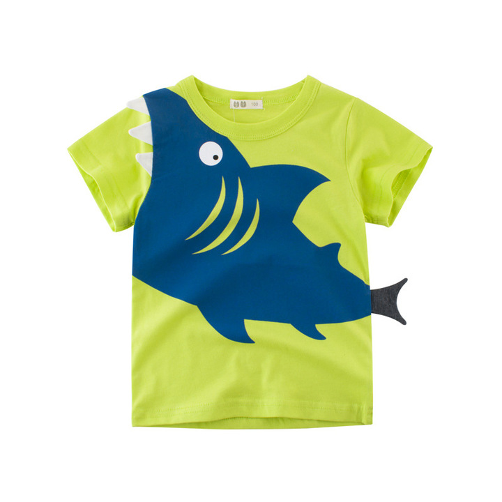 2019 Special Offer Fashion Baby Boy and Girl Cotton T shirt top polo ZSH0403-2 100 cm cotton