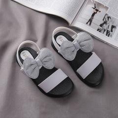 New Design bowknot Girl soft bottom anti-skip princess sandals 1 27