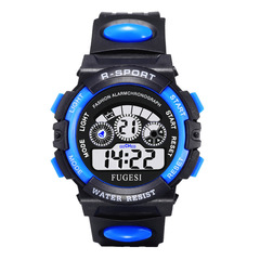 Kids Waterproof night light multifunctional sports watch for boy and girl 1 Large