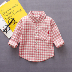 2019 New Baby Boy 0 - 4 Years Old Cotton long sleeve shirt 1 90 cm