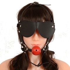 Adjustable Eye Mask for Masque Couples Flirting Fetish Bondage Toys KZ8265