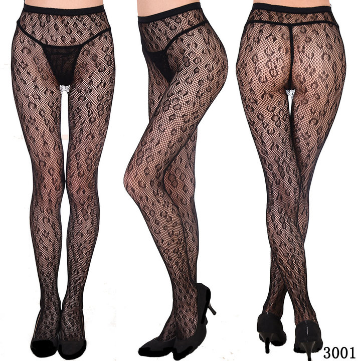 Women's Fishnet Tights Suspender Pantyhouse Stockings High Waist Sexy Net Legging For Female 3001 One Size