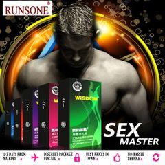Premium Condoms Natural Latex Rubber PeauDivine 10 Counts rose red 10 count