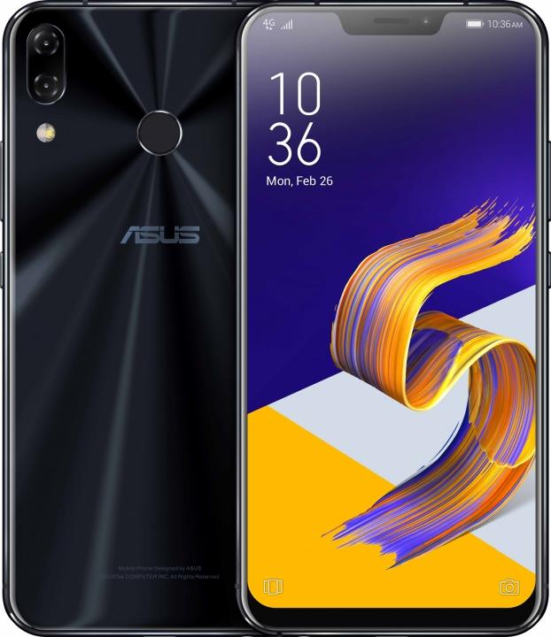 "ASUS Zenfone 5 ZE620KL  6.2""19:9 FHD+2246*1080 Screen  4GB 64GB NFC black"