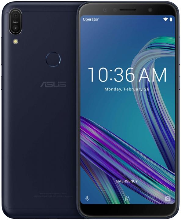 Asus ZenFone Max Pro (M1) ZB602KL  4GB 64GB 6 inch 18:9 FHD+ Telephone Face ID 5000mAh black
