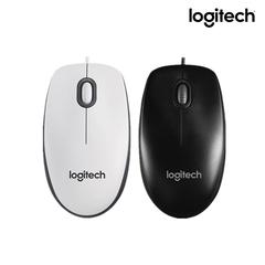 Logitech M100R Wired Optical Gaming Mouse USB 1000DPI Ergonomic Computer Mice-black black normal