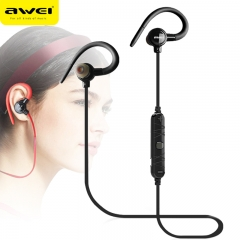 AWEI A620BL In-Ear Wireless Headphones Bluetooth Earphones For Phone With Microphone black