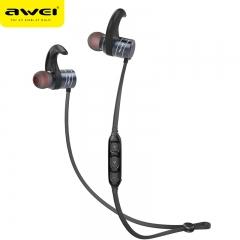 AWEI AK1 Bluetooth Earphone Wireless Headphone Cordless Headset Sport Earpiece Stereo Headfone black