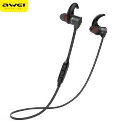 AWEI AK3 Bluetooth Earphone Waterproof Wireless Headset Casque With Microphone Cordless Earphone black