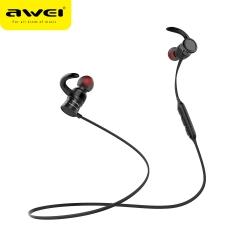 AWEI AK5 Bluetooth Heaphone Wireless Earphone With Magnetic Headset bluetooth Earfone black