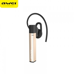 Awei A831BL Wireless Earphone Bluetooth Headphones Hands Free With Microphone For Phones Auriculares gold